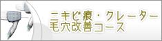 [12]ニキビ痕・クレーター・毛穴改善コース